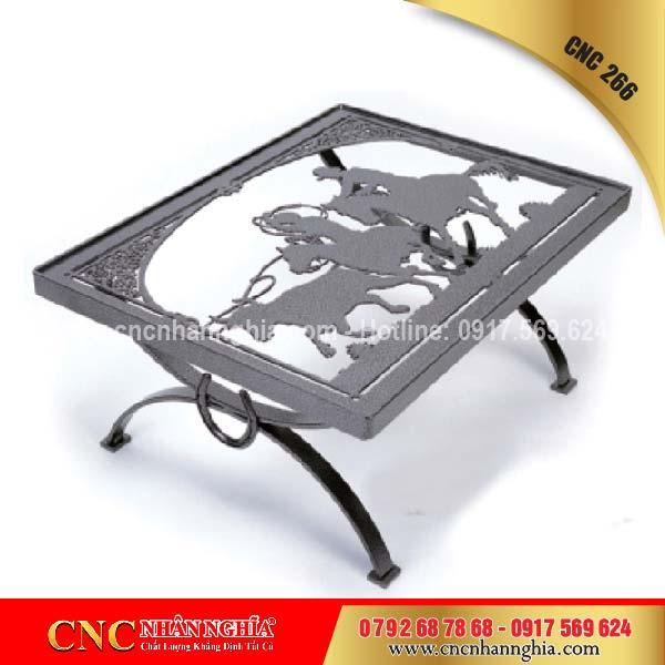 bàn ghế sắt mỹ nghệ cnc 266