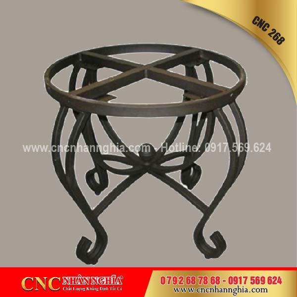 bàn ghế sắt mỹ nghệ cnc 268