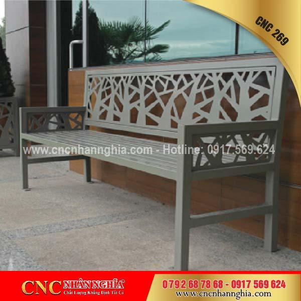 bàn ghế sắt mỹ nghệ cnc 269