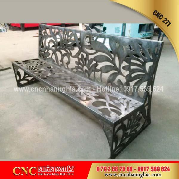 bàn ghế sắt mỹ nghệ cnc 271