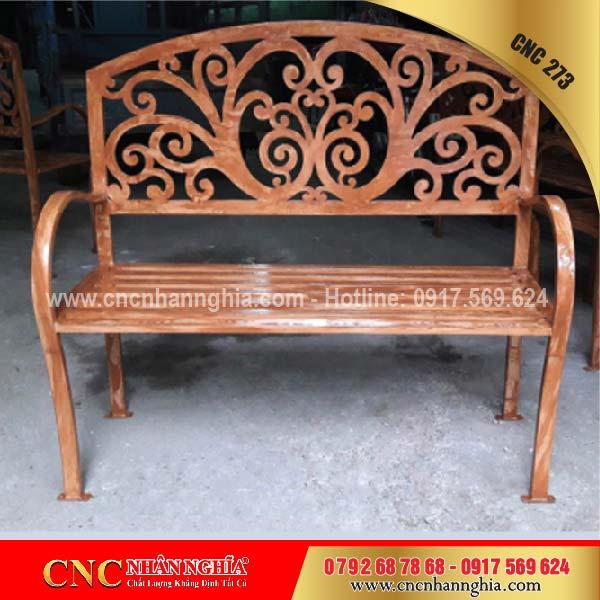 bàn ghế sắt mỹ nghệ cnc 273