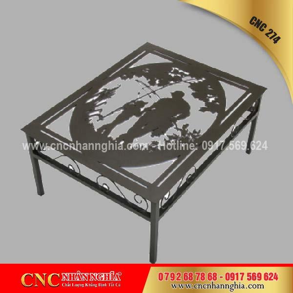 bàn ghế sắt mỹ nghệ cnc 274