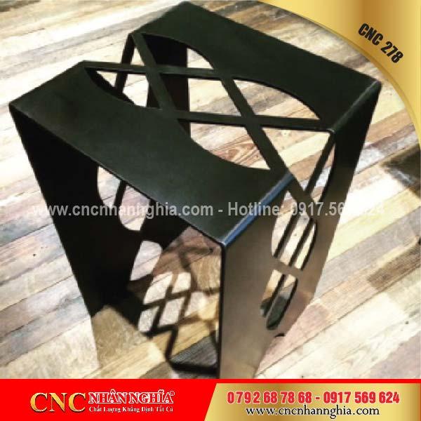 bàn ghế sắt mỹ nghệ cnc 278