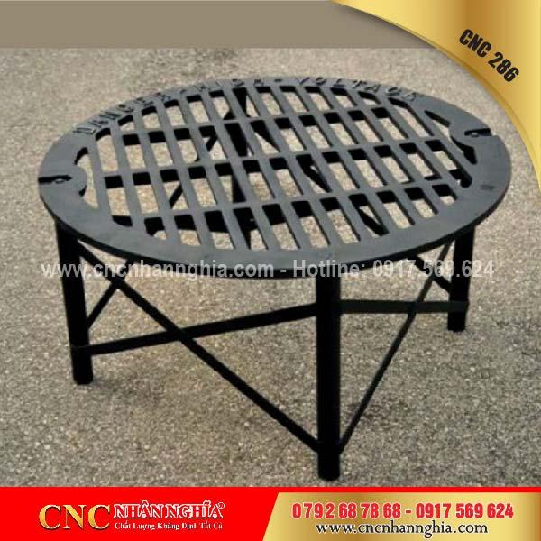 bàn ghế sắt mỹ nghệ cnc 286