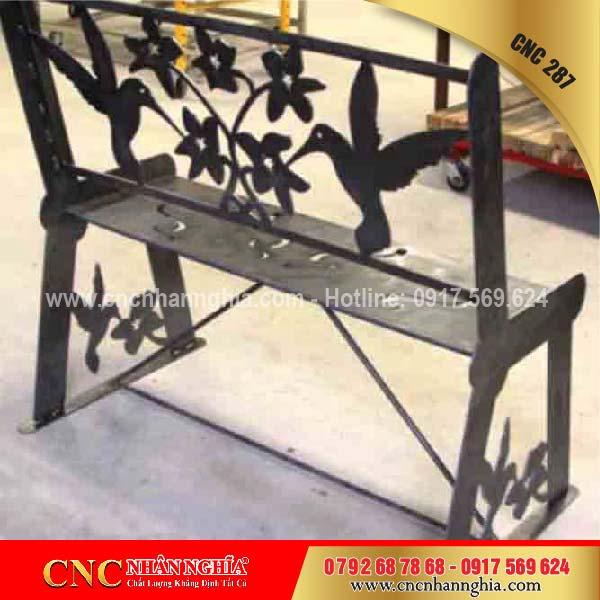 bàn ghế sắt mỹ nghệ cnc 287