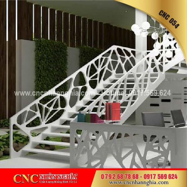 mẫu cầu thang sắt đẹp 054