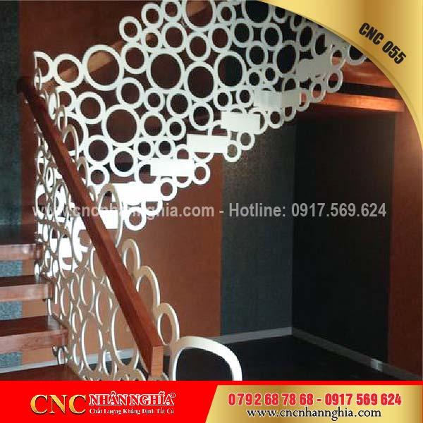 mẫu cầu thang sắt đẹp 055