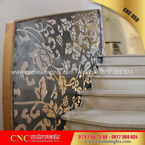 mẫu cầu thang sắt đẹp 059