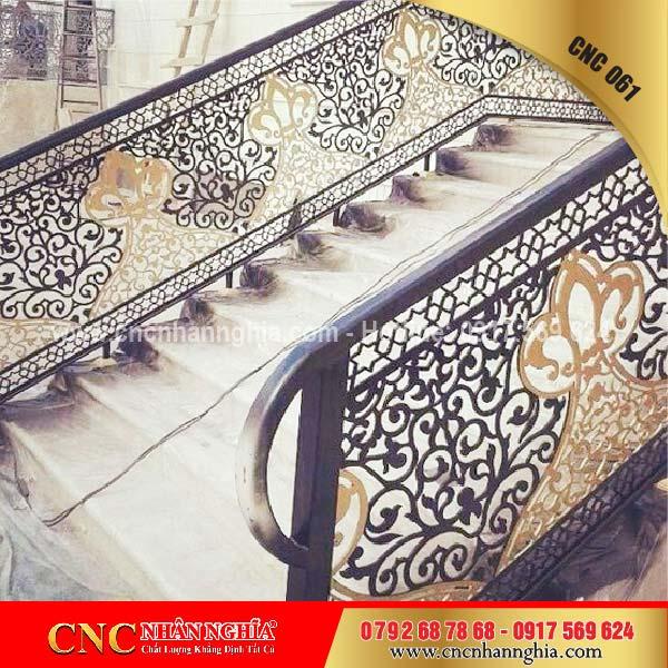 mẫu cầu thang sắt đẹp 061