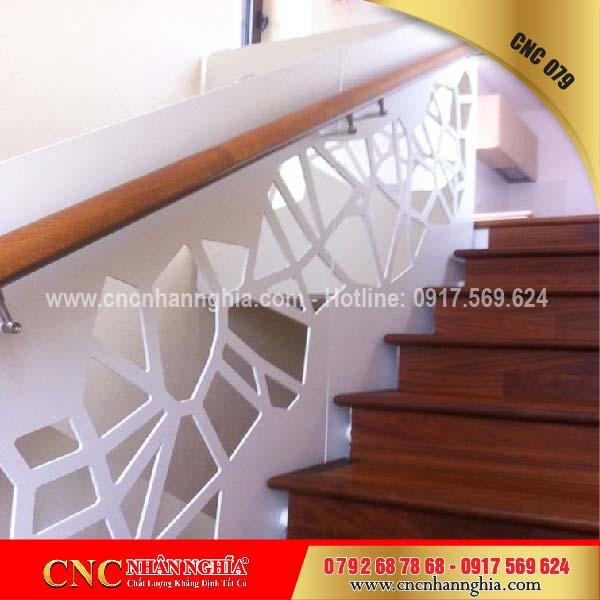 mẫu cầu thang sắt đẹp 079