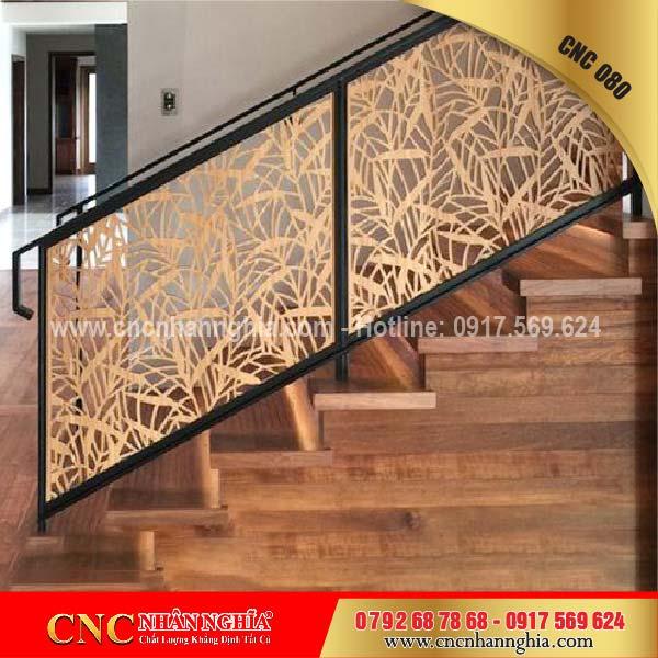 mẫu cầu thang sắt đẹp 080