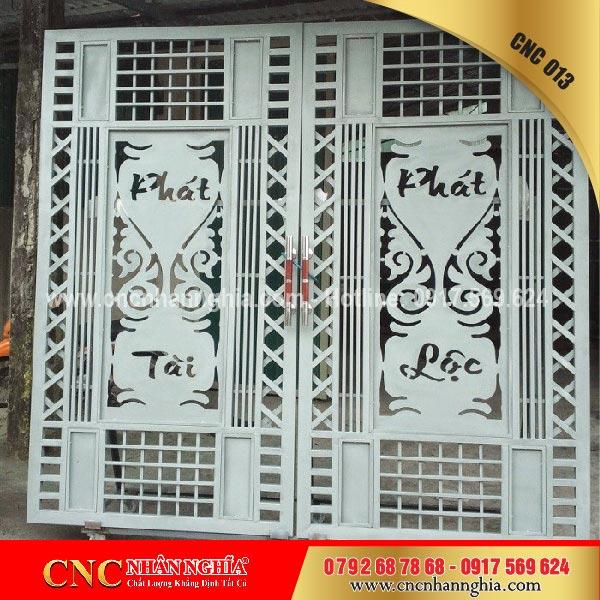 cửa sắt hoa văn cnc 013