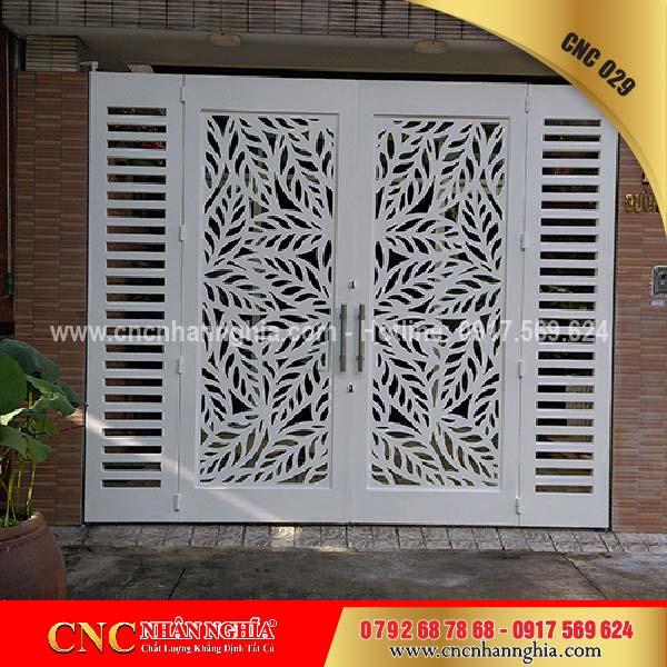 cửa sắt hoa văn cnc 029