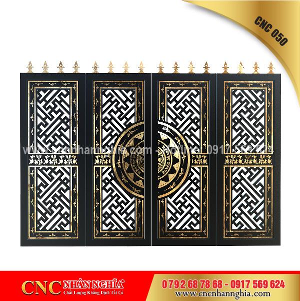 cửa sắt nghệ thuật cnc 050