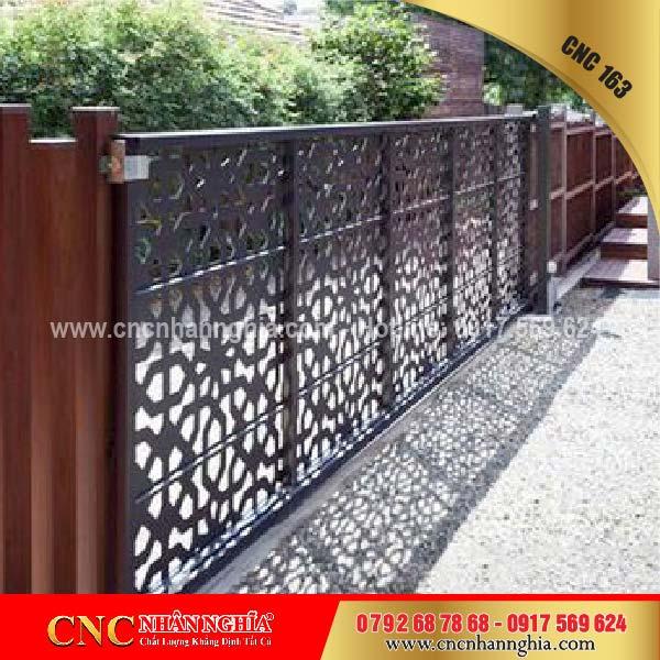 mẫu hàng rào sắt mỹ thuật 163