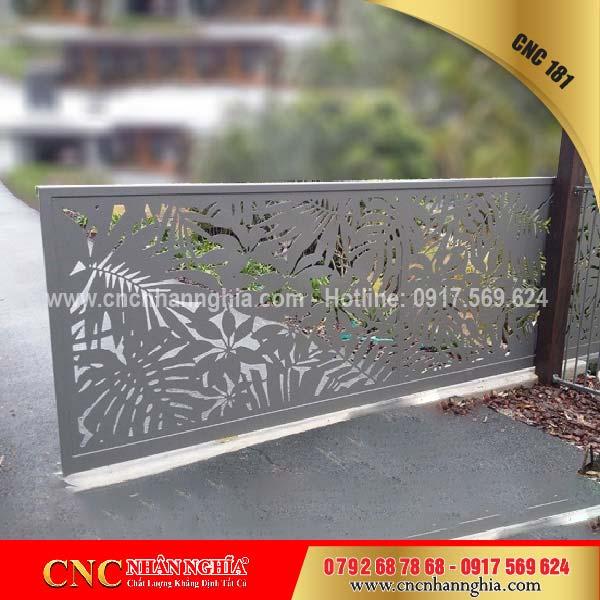 mẫu hàng rào sắt mỹ thuật 181