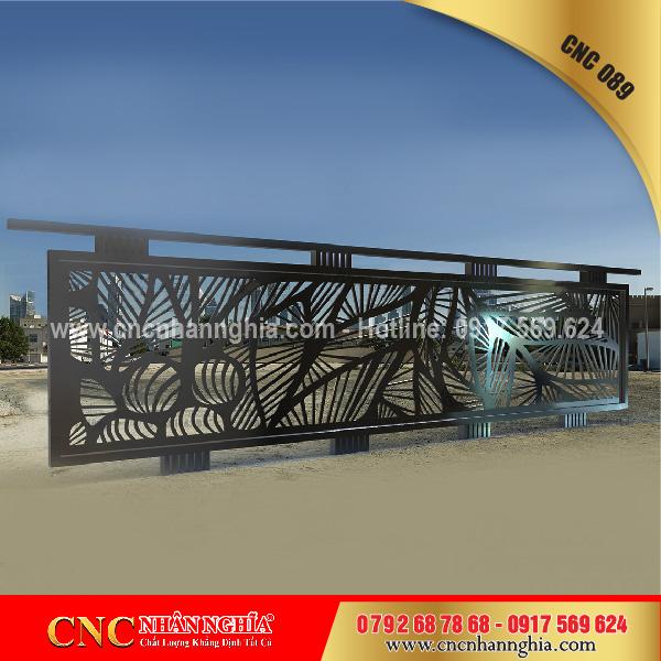 sắt hoa văn mỹ thuật cnc 089