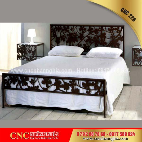 giường cắt cnc nghệ thuật