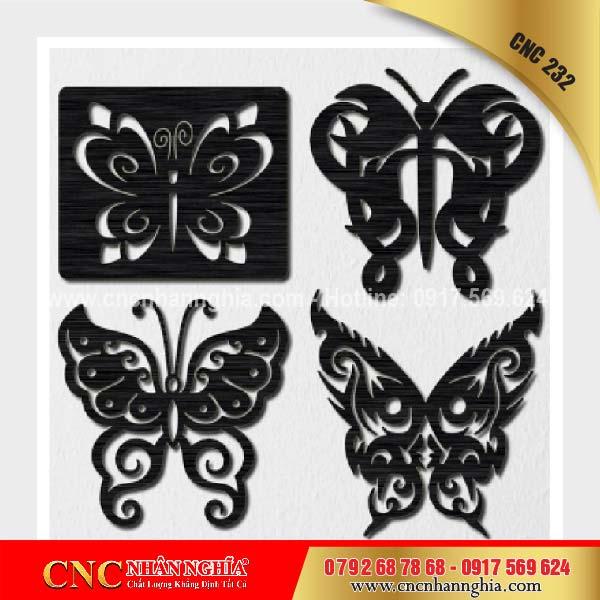 họa tiết trang tri hình bướm