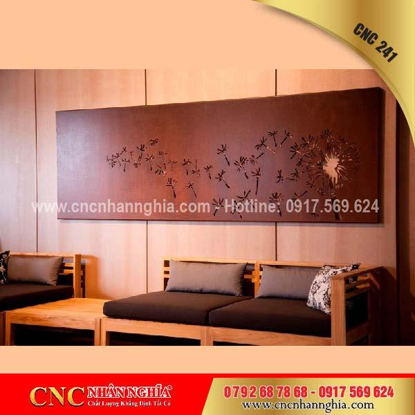 tổng hợp các mẫu cnc trang trí phòng khách đẹp