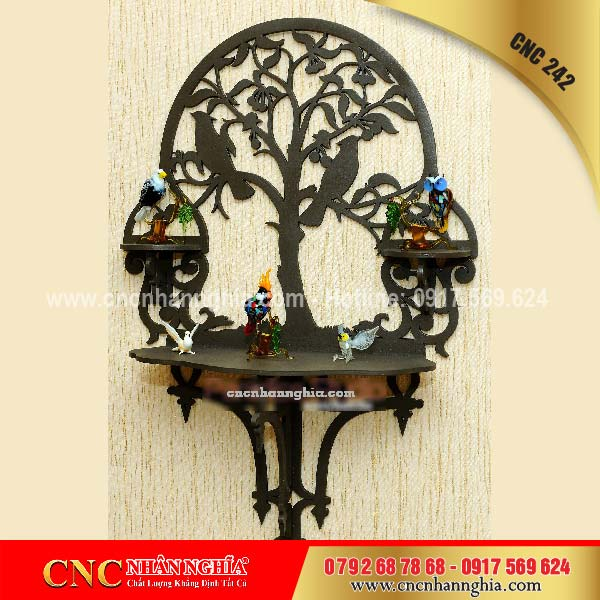 mẫu cnc nghệ thuật trang trí phòng khách